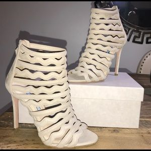 Prada Women Suede Booties orig $950  Authentic